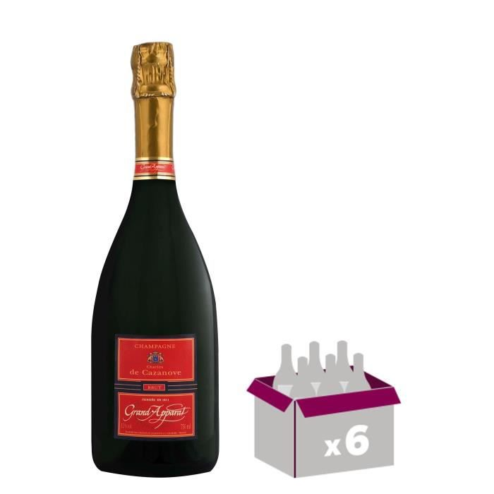 GH MARTEL De azanove Grand Apparat Champagne Brut - Blanc - 75 cl x 6