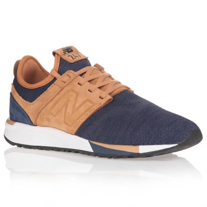 NEW BALANCE Baskets 247 HEATHER - Homme - Noir