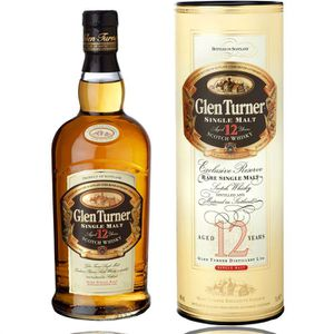 WHISKY BOURBON SCOTCH Glen Turner Whisky 12 ans