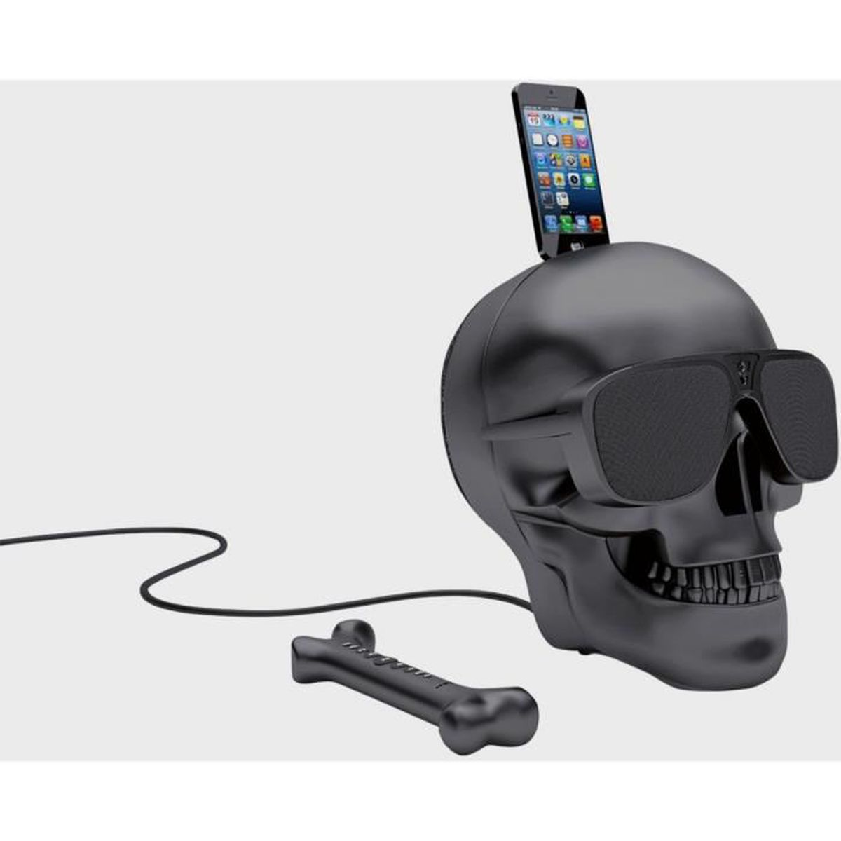 enceinte jarre aeroskull hd matt black enceintes bluetooth avis et prix pas cher soldes. Black Bedroom Furniture Sets. Home Design Ideas