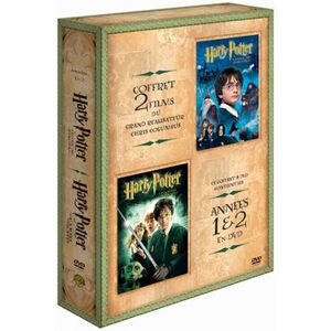 DVD DESSIN ANIMÉ DVD Coffret harry potter 1+2