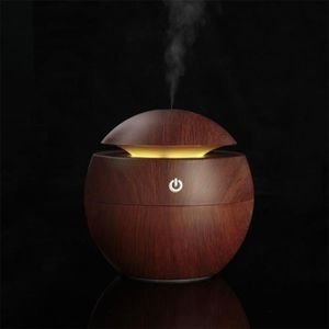 PURIFICATEUR D'AIR 130ml USB Diffuseur d'arômes Ultrasonique/ Humidif