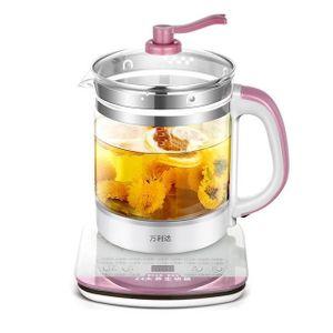 THÉIÈRE ÉLECTRIQUE Soins de santé bouillie pot de thé en verre théièr