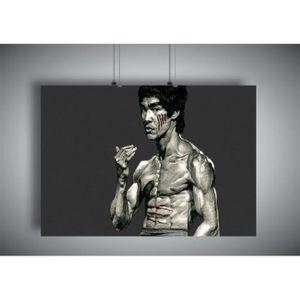AFFICHE - POSTER Poster BRUCE LEE ART OF WING CHUN 06 Wall Art  - A