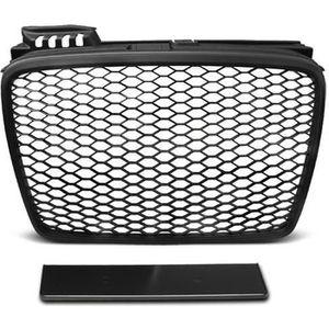 U42 A4 B8 11-15 Look RS Noir Brillant Shop Import Grille de calandre
