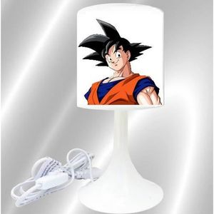LAMPE A POSER lampe de chevet  creation dragon ball z dbz blanc