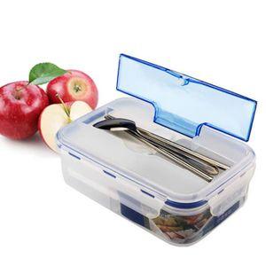 LUNCH BOX - BENTO  Transparent boîte à lunch Portable Four à micro-dé