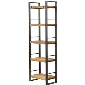 etagere bibliotheque metal achat vente etagere. Black Bedroom Furniture Sets. Home Design Ideas