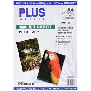 PAPIER PHOTO Plus Office InkJet Paper Photo Quality Lot de 100
