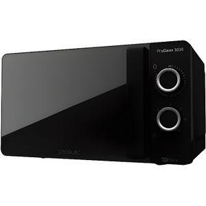 MICRO-ONDES Four à micro-ondes noir avec revêtement Ready2Clea