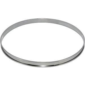 CADRE A PATISSERIE DE BUYER Cercle à tarte - Inox - Ø 24 x H 2 cm - T