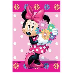 COUVERTURE - PLAID Couverture en laine polaire Minnie Mouse