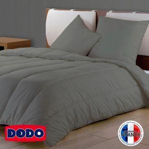 COUETTE DODO Couette Couleur - 220 x 240 cm - Gris