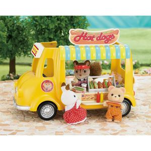FIGURINE - PERSONNAGE SYLVANIAN FAMILIES 5240 Camion Restaurant