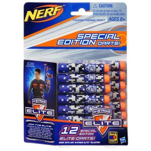 RECHARGE PISTOLET BILLE NERF Elite Recharges Deco X12 -
