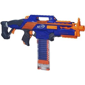 PISTOLET BILLE MOUSSE NERF Elite Rapidstrike CS 18