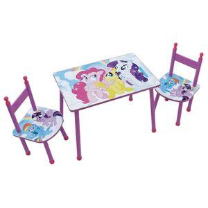 TABLE ET CHAISE Fun House My Little Pony My Little Pony ensemble t