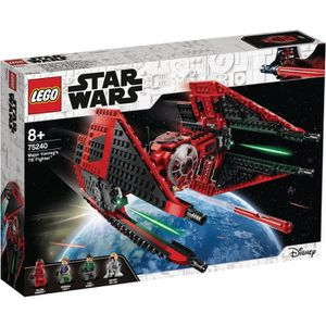 ASSEMBLAGE CONSTRUCTION LEGO Star Wars™ 75240 TIE Fighter™ de Major Vonreg