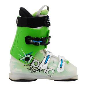 CHAUSSURES DE SKI Chaussure de ski junior Alpina Loop vert transluci
