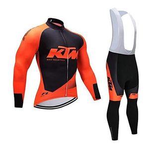 MAILLOT DE CYCLISME KTM Maillot Cyclisme Manches Longues Vetement Velo
