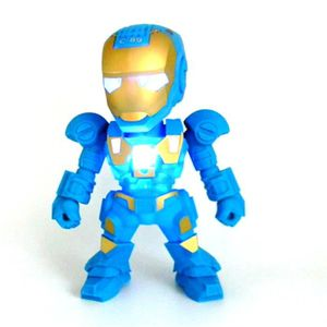 ENCEINTE NOMADE Mini Haut-parleur Portable Iron Man Bluetooth Haut