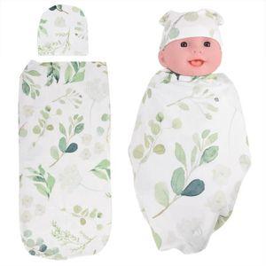 COUVERTURE - PLAID BÉBÉ Sac de couchage bébé avec chapeau Anti-choc Doux p