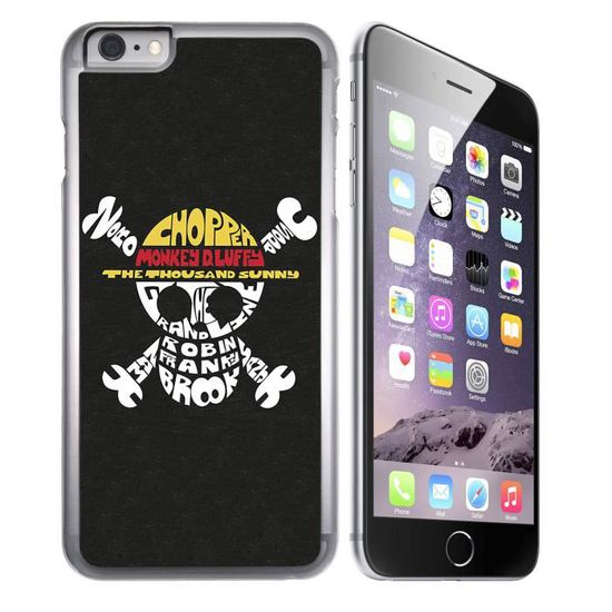coque iphone 7 one piece logo nom