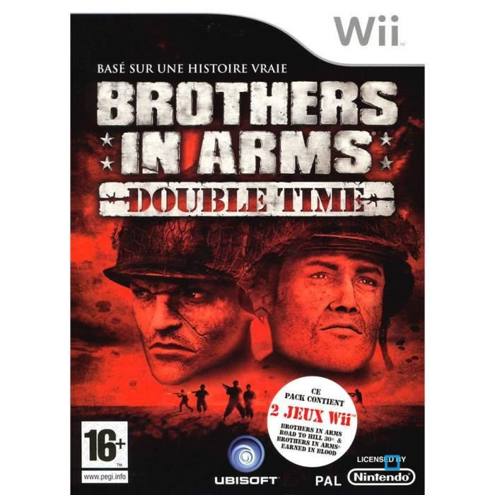 JEUX WII BROTHERS IN ARMS