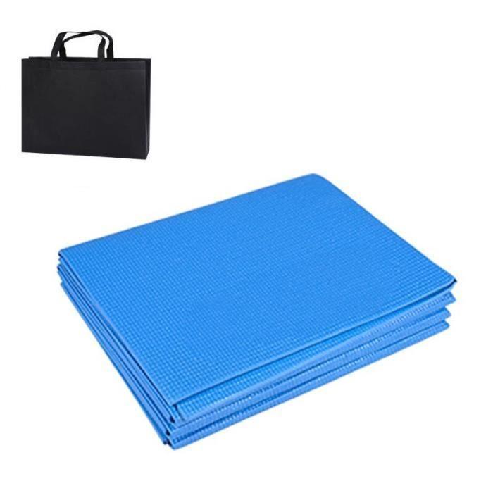 Tapis de Yoga pliable en PVC, tapis d'exercice épais antidérapant, tapis de Fitness pliant, fournitures de Pilates, [32AC532]
