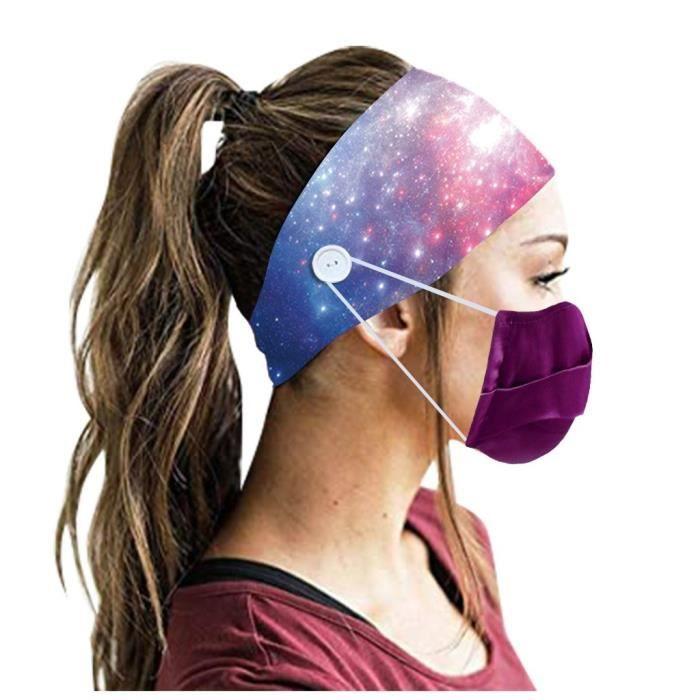 【HARNAIS DE TETE】Hommes Femmes Bandeau Bandeau Running Yoga Élastique Bandeau Cheveux Accessoires De Cheveux - Multicolore66