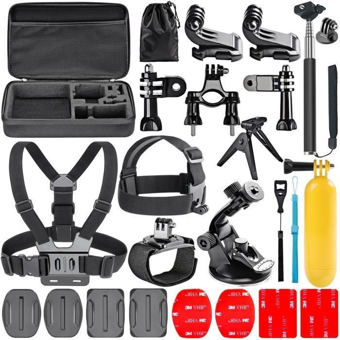 Navitech 18 in 1 Kit d'Accessoires pour Caméras d'Action pour le GoXtreme Eagle 4K Action Camera