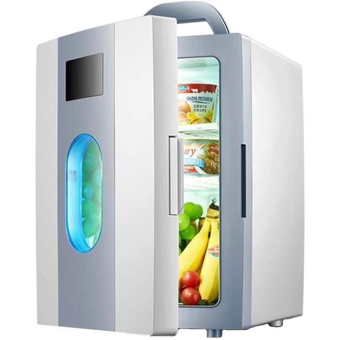 Mini frigo Refrigerateur menager Refrigerateur Porte Simple Refrigerateur de Voiture Refrigerateur à Double Usage capacite de 10465