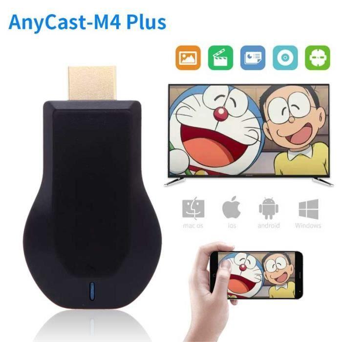 Anycast M4 plus HDMI média vidéo Streamer Wi Fi affichage Dongle 1080P Mini PC Android TV bâton adaptateur pour tél GF55702713