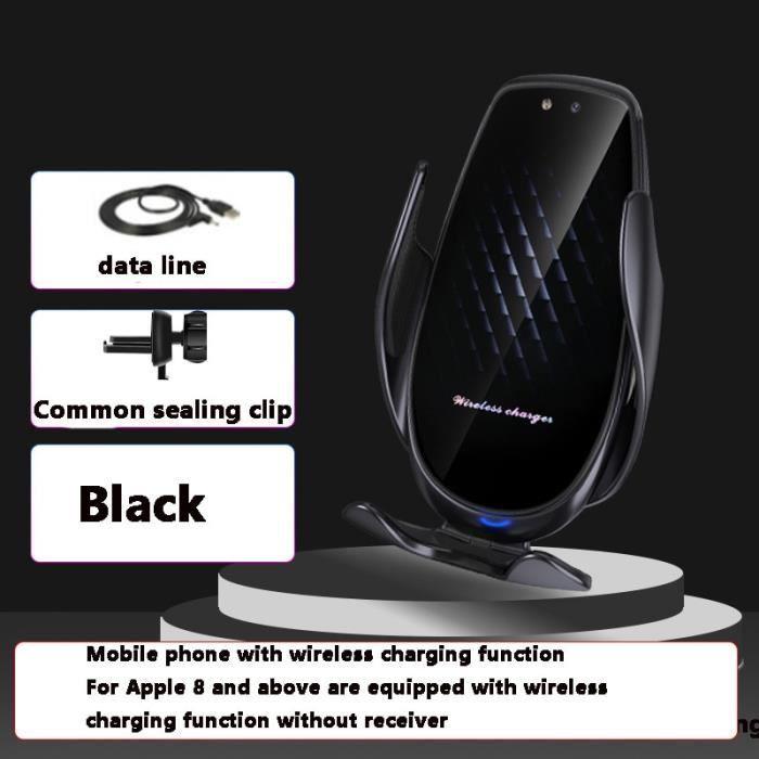 Supports voiture,Voiture Support de téléphone portable de bâti d'évent de Support de Support pour téléphone pour BMW - Type A Black