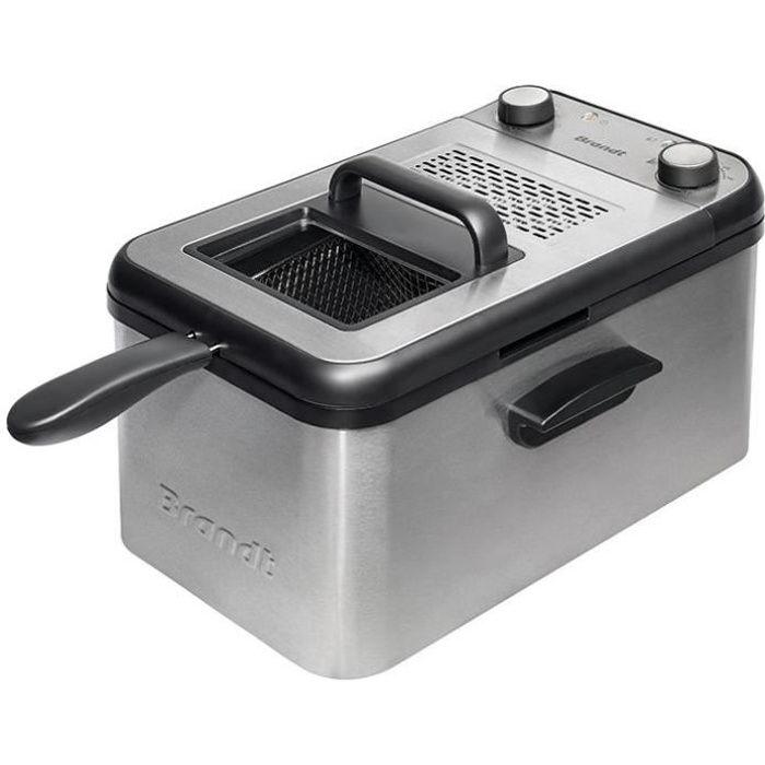 BRANDT Friteuse - 2200W - 3.2L - 1 kg