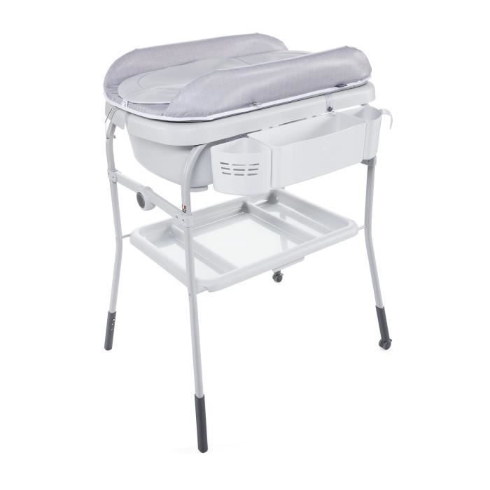 CHICCO Combi bain change cuddle & bubble Happy silver
