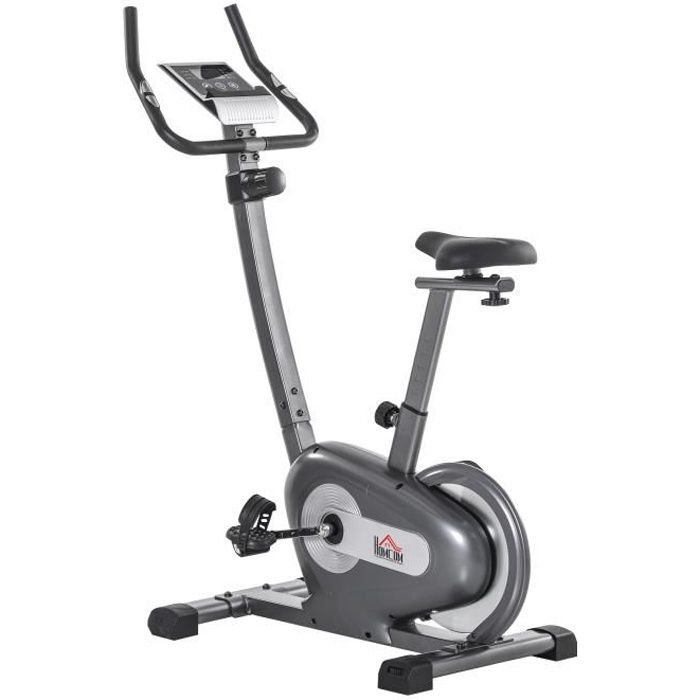 Vélo d'appartement cardio Fit 107x53x135cm Gris