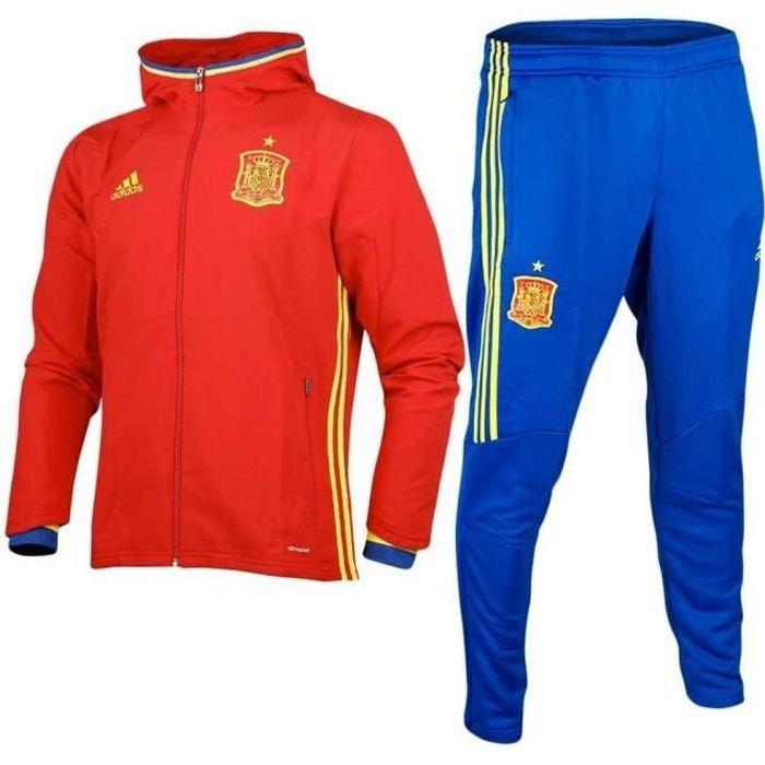 Survetement Football Enfant Adidas Fef Espagne Ai4845 Presentation