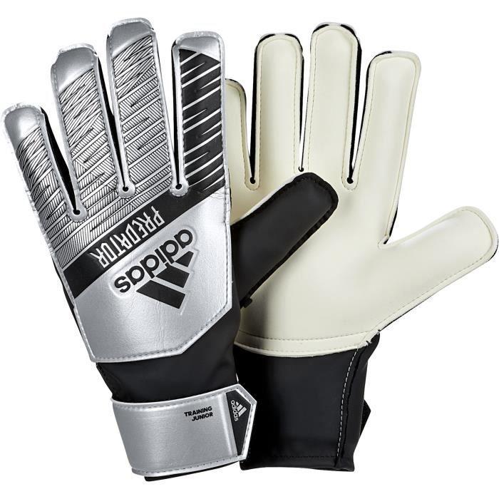 Gants de gardien junior adidas Predator Silver