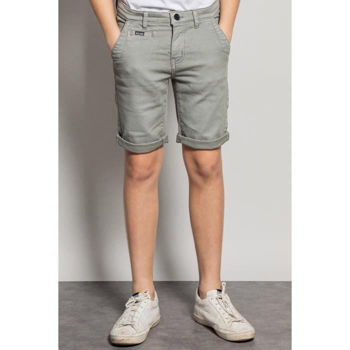 DEELUXE Short slim jogg jean TRADEL Light Grey