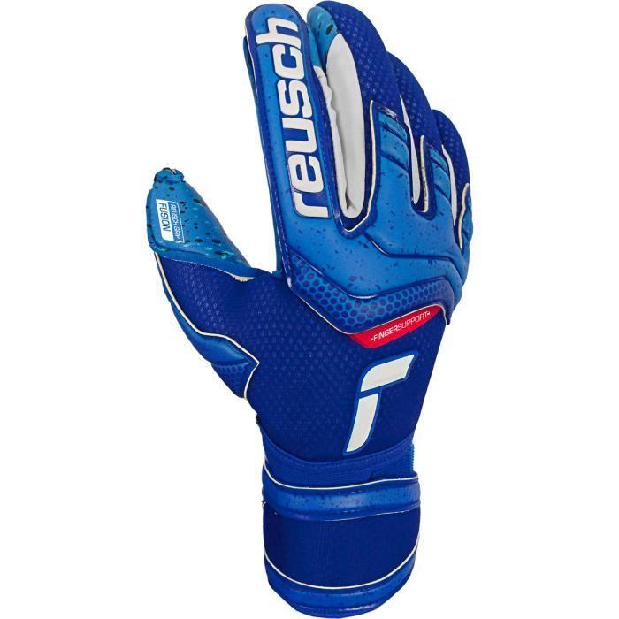Gants Reusch Attrakt Fusion Finger Support - bleu profond - 10