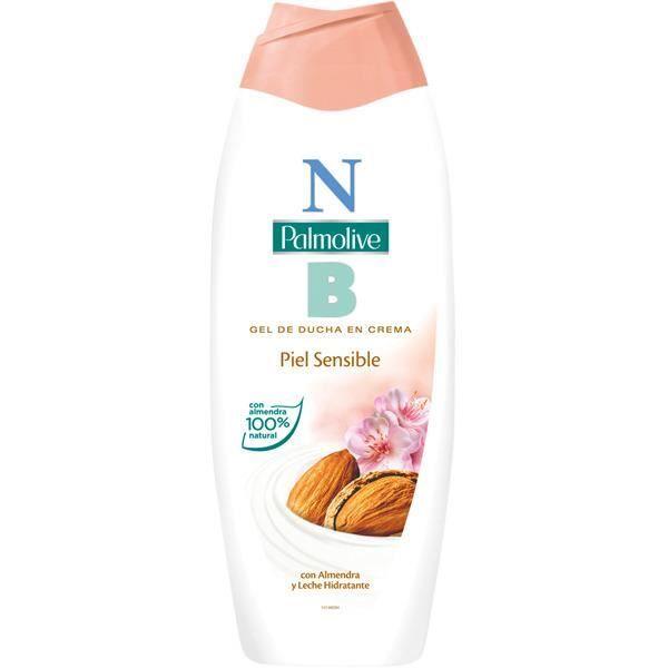Gel douche Palmolive peau sensible est enrichi avec des extraits d'amande et d'aloe vera 100% naturel. Sa formule riche en vitamines