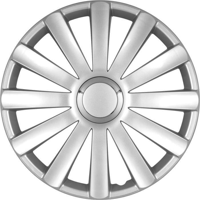 Lot de 4 enjoliveurs de roues 15 pouces SPYDER …