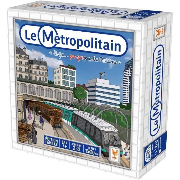 Metropolitain - Jeux de découverte - Jeux de société - TOPI GAMES