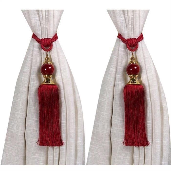Gland à rideau de perles, rouge