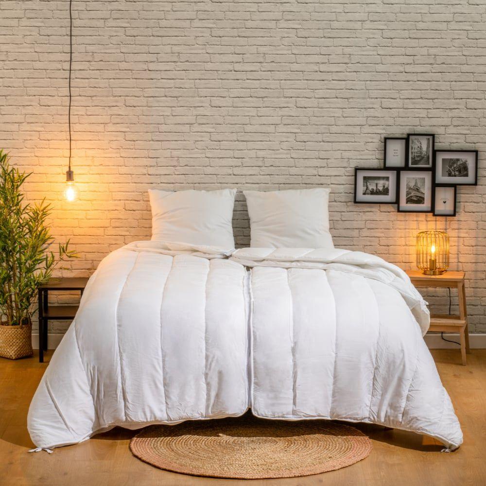 BLEU CALIN Couette pour Deux 240x260cm