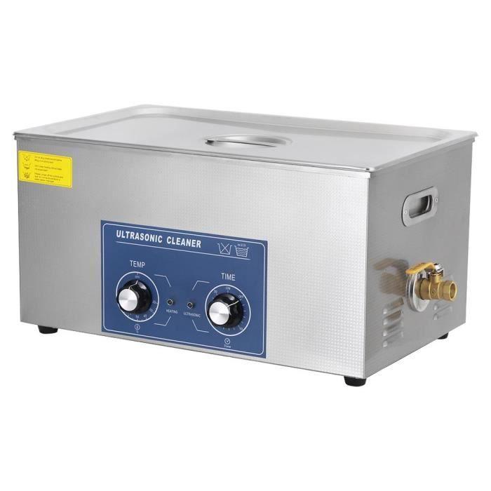 22L Machine de Nettoyage à Ultrasons Machine de Réservoir de Nettoyage avec Panier---SHY