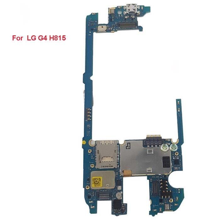 carte mere lg g4 Carte mère principale compatible pour LG G4 H815 32GB   Prix pas