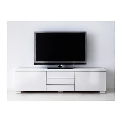banc tv blanc brillant achat vente meuble tv banc tv blanc brillant cadeaux de no l cdiscount. Black Bedroom Furniture Sets. Home Design Ideas