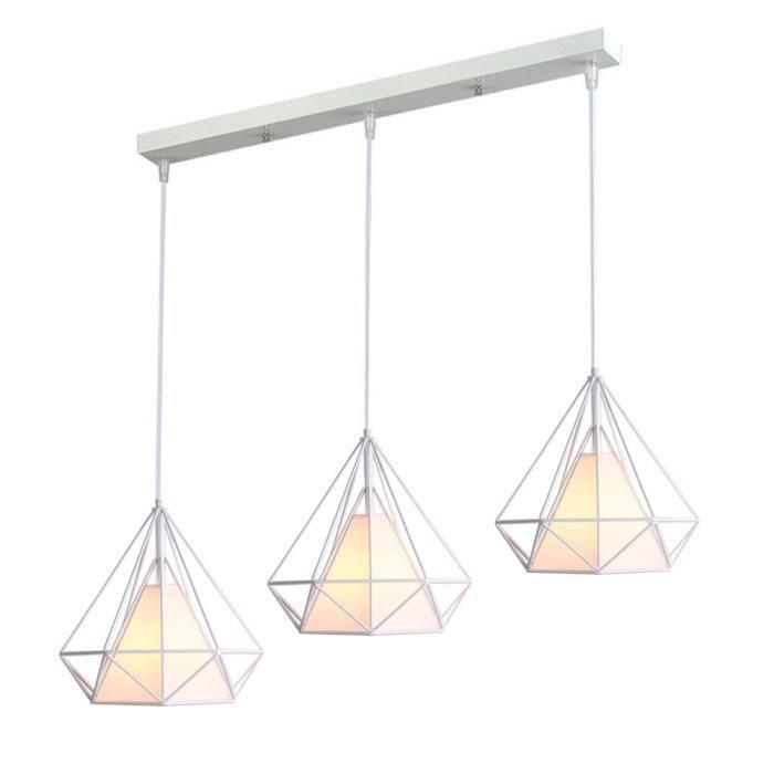 LUSTRE ET SUSPENSION UNI LUSTRE - SUSPENSION 3 Lumières Lampe Suspensio
